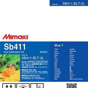 Mimaki Ink Blue Mimaki SB411 Dye Sublimation Ink