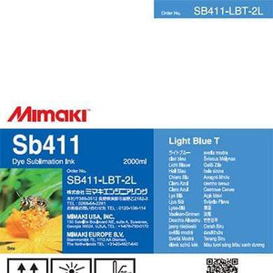 Mimaki Ink Light Blue Mimaki SB411 Dye Sublimation Ink
