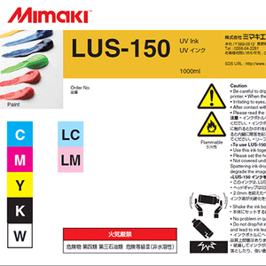 Mimaki Ink Light Cyan Mimaki LUS-150 UV Ink 1000cc