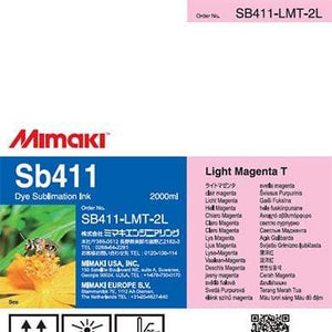 Mimaki Ink Light Magenta Mimaki SB411 Dye Sublimation Ink
