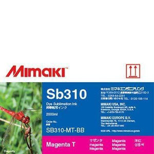 Mimaki Ink Magenta / 2000cc Mimaki SB310 Dye Sublimation Ink