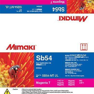 Mimaki Ink Magenta / 2000cc Mimaki SB54 Dye Sublimation Ink