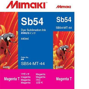 Mimaki Ink Magenta / 440cc Mimaki SB54 Dye Sublimation Ink