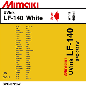 Mimaki Ink White LF-140 UV curable ink 600cc Ink Pack