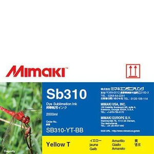 Mimaki Ink Yellow / 2000cc Mimaki SB310 Dye Sublimation Ink