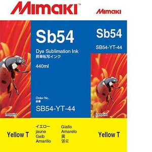 Mimaki Ink Yellow / 440cc Mimaki SB54 Dye Sublimation Ink
