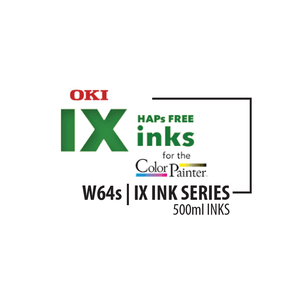 OKI Ink Cyan OKI ColorPainter W64s | IX Ink Series W | 500ml