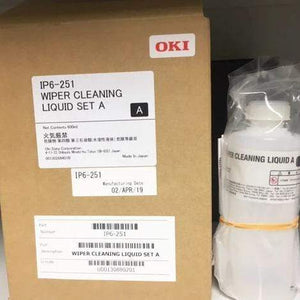 OKI Parts & Accessories Oki: Wiper Cleaning Liquid Set A - IP6-251