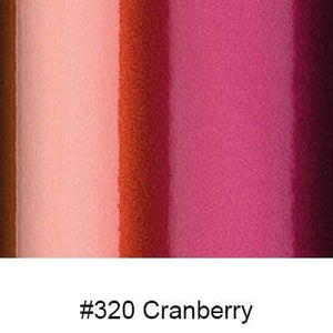"Oracal Media #320 Cranberry / Gloss Orafol 970RA Premium Shift Cast 60""x75'"