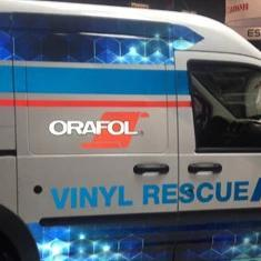"Oracal Media 48""x150' Oralite 5650 RA Fleet Engineer Grade Reflective Film"
