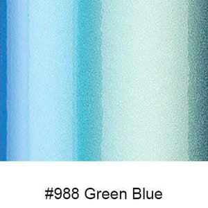 "Oracal Media #988 Green Blue / Gloss Orafol 970RA Premium Shift Cast 60""x75'"