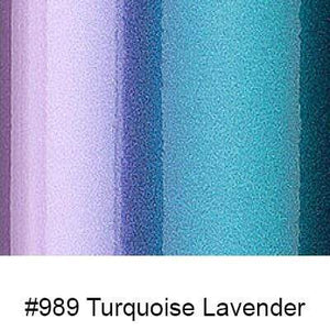 "Oracal Media #989 Turquoise Lavender / Gloss Orafol 970RA Premium Shift Cast 60""x75'"