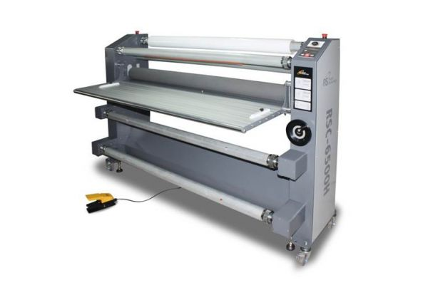 "65"" Heat Assist Top Roller Wide Format Roll Laminator RSC-6500H"