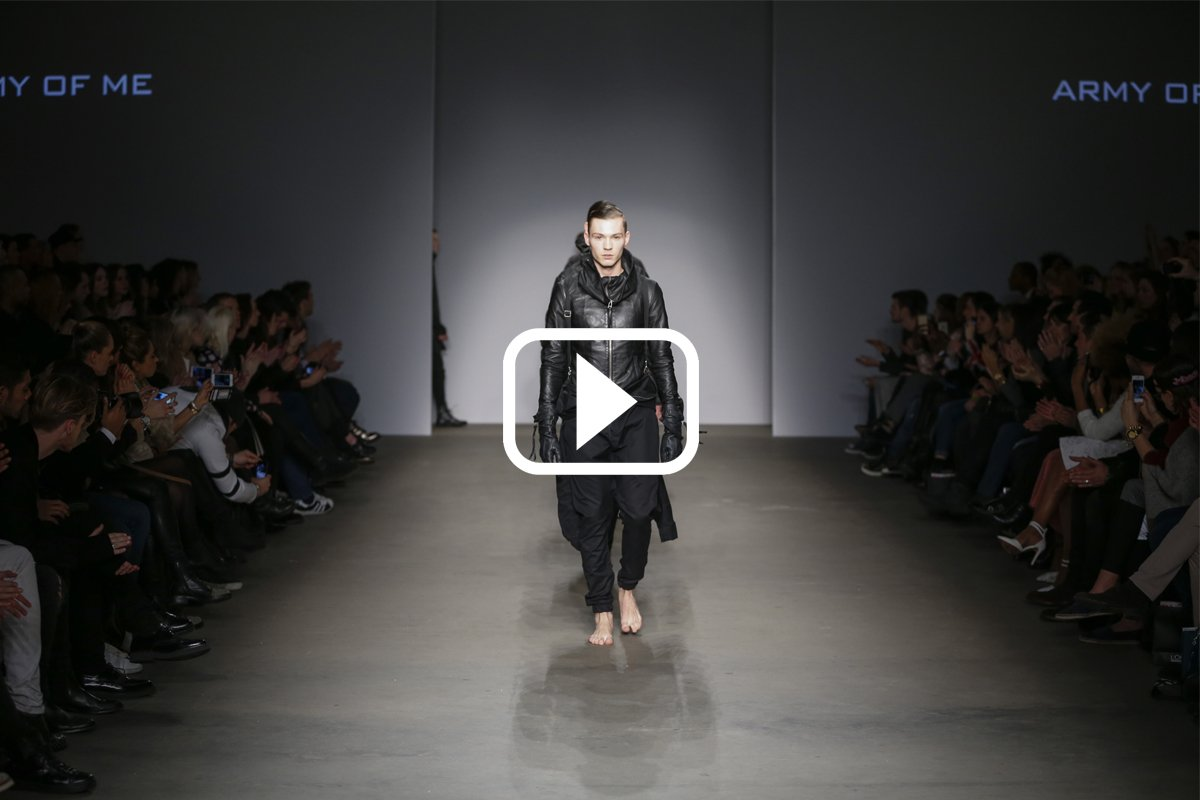 ARMY OF ME AW15 FASHION SHOW VIDEO ALELUYA STORE DARK AVANTGARDE ONLINE STORE
