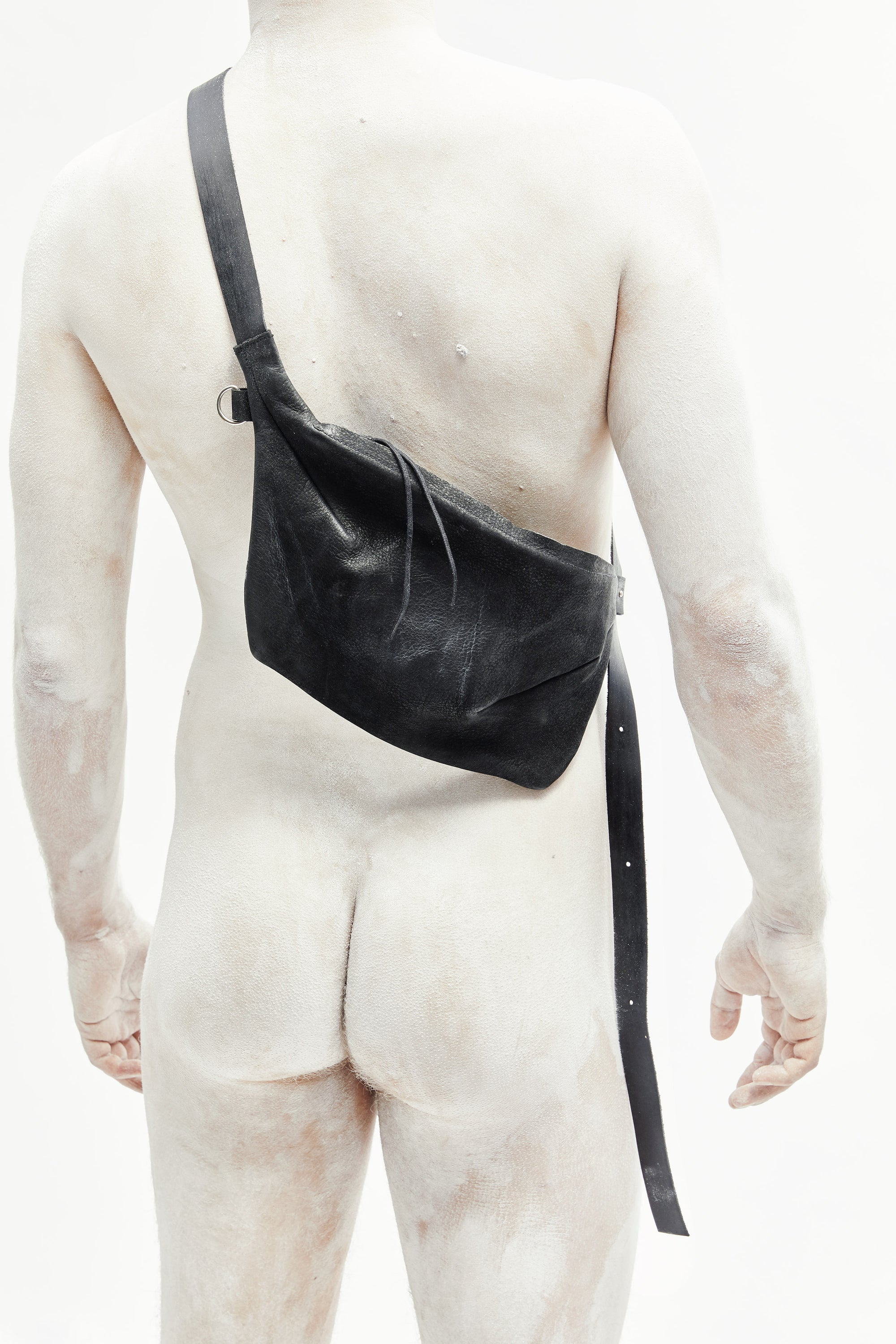 Silky Leather Fanny Pack