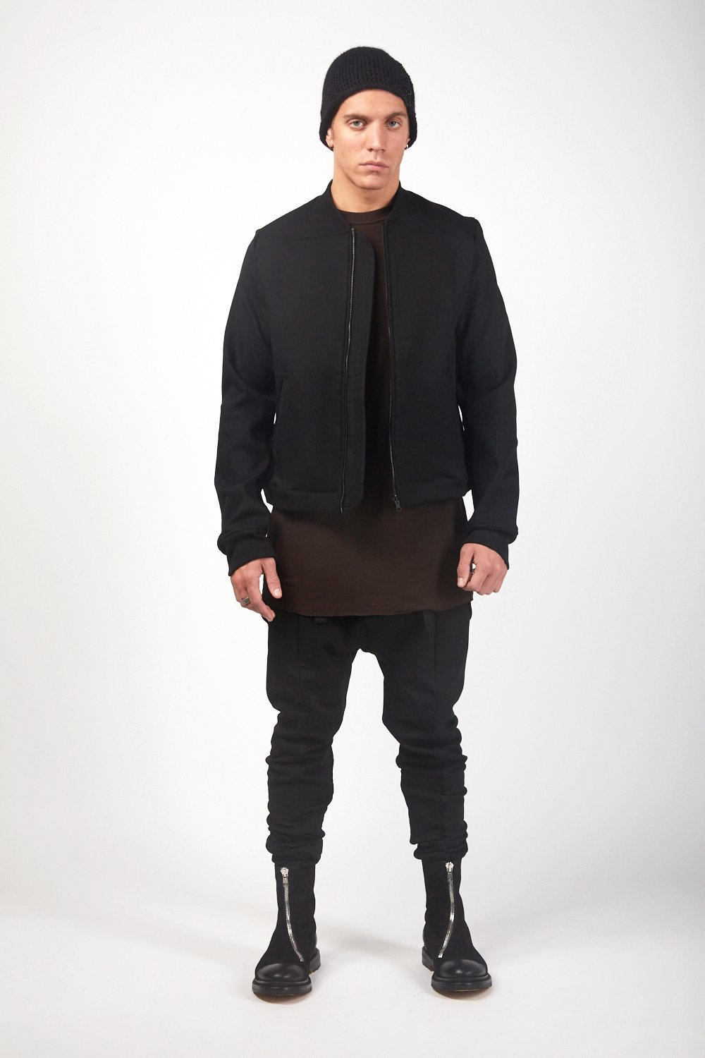 Black Heat Tech Fitted Jacket