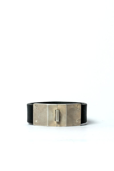 Parts of 4 Box Lock Bracelet | Facet | Narrow | BLK+AS Shop Online