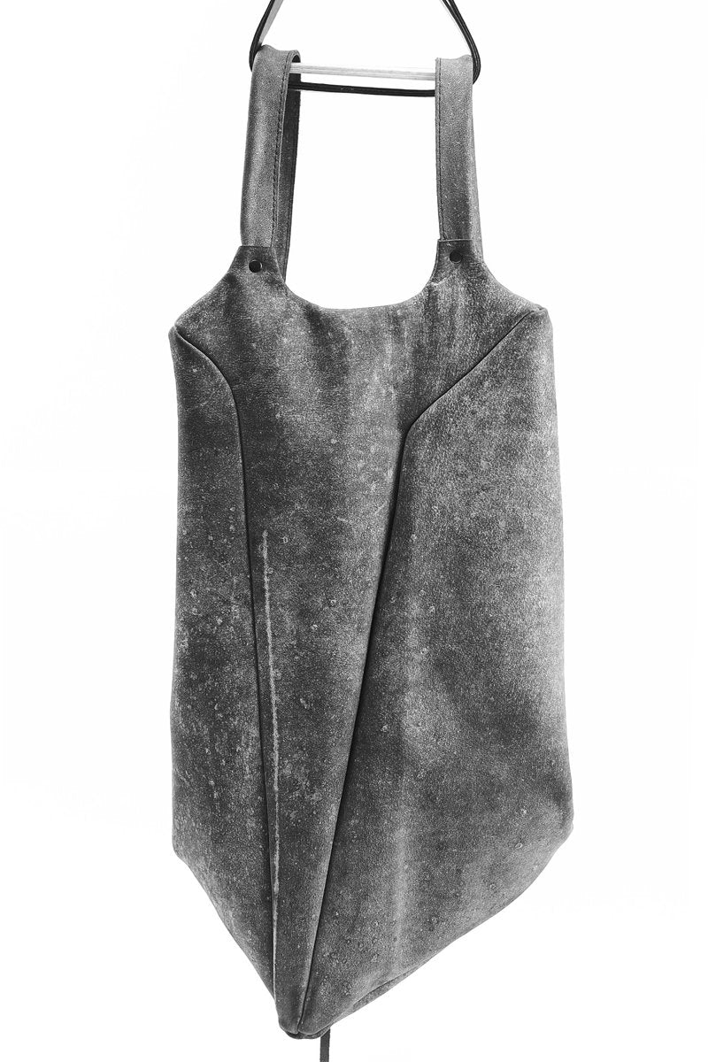 GREY LEATHER RUCKSACK