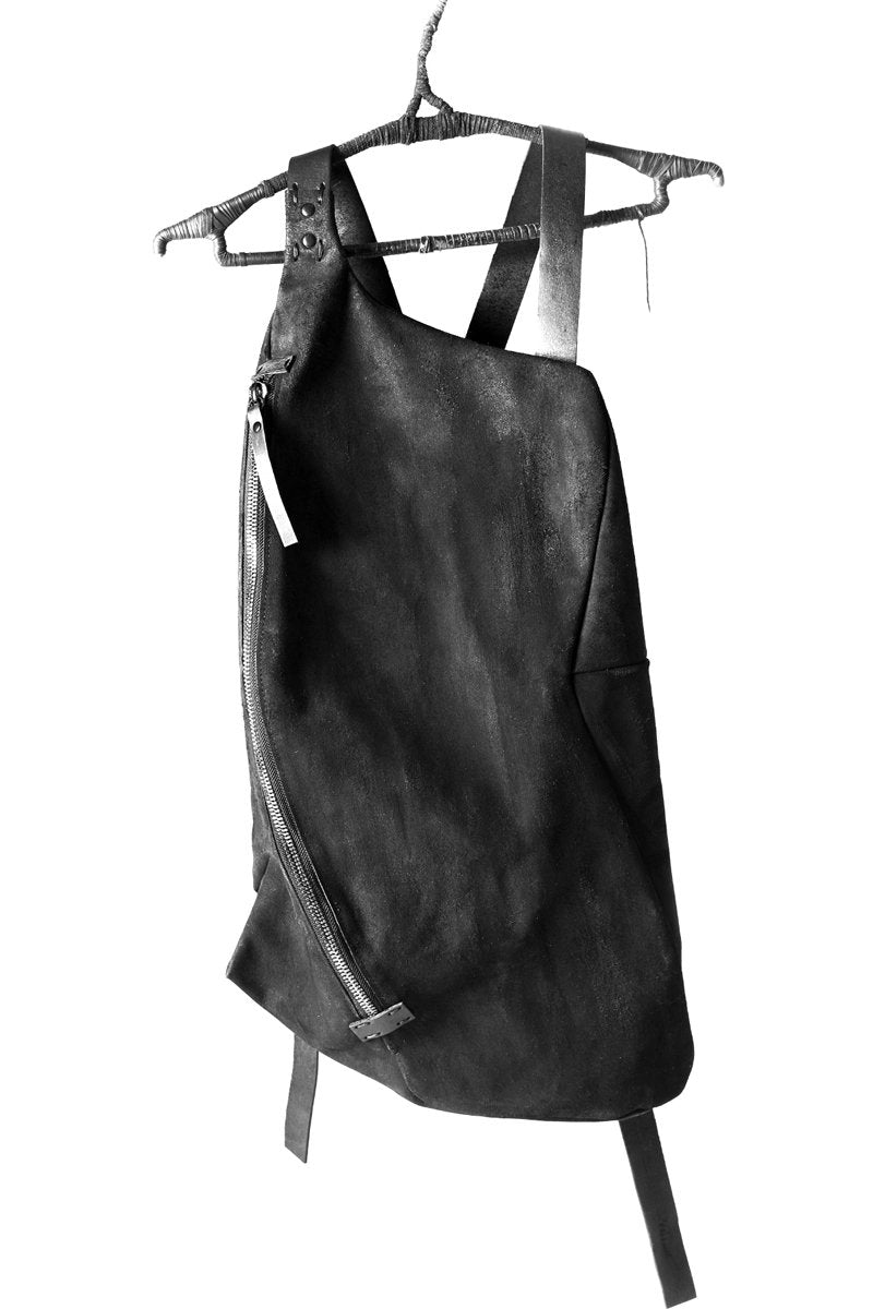 YTN7 BLACK LEATHER RUCKSACK Shop Online