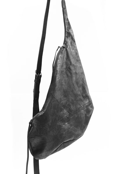 YTN7 BLACK LEATHER SHOULDER BAG Shop Online