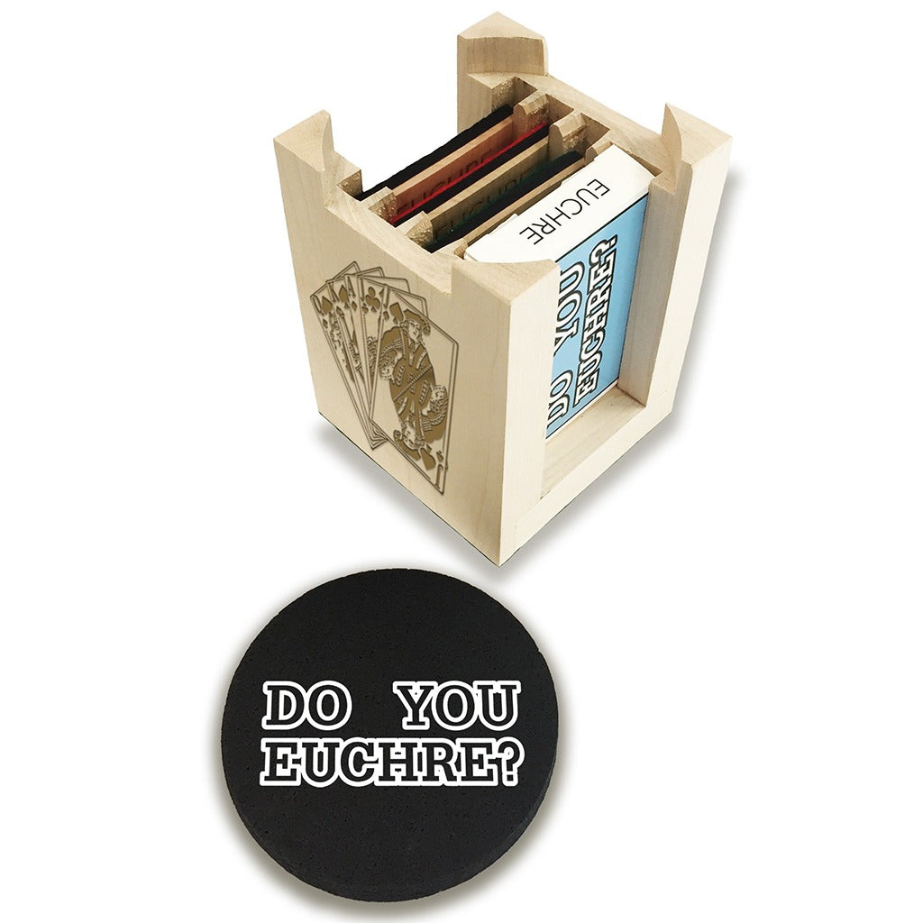 Euchre Score Keeper Set With Playing Cards Amp Recycled