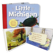 The Little Michigan Children's Book 978-1-58536-479-4 written by Denise Brennan-Nelson and Illustrated by Micheal Glenn Monroe
