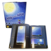 Millie and the Moon Children's Book 978-0-9754942-3-3 written by Denise Brennan-Nelson illustrated by Michael Glenn Monroe