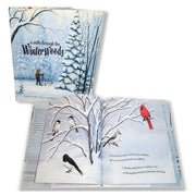 A Walk Through The Winter Woods Children's Book 978-0-9754942-5-7 written by Colleen Monroe / illustrated by Michael Glenn Monroe