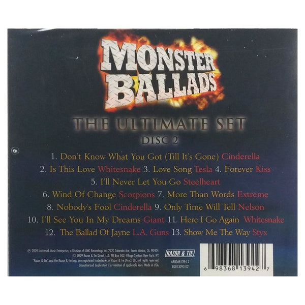 Monster Ballads The Ultimate Set Disc Two Various Artists