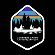 "2020 5"" x 4"" Sticker - Concrete Canoe at Michigan Tech"