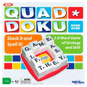 Poof-Slinky #0C747 Quad Doku Word Game