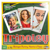 Ideal #0C1241 Tripoley Card Game Deluxe Mat Version