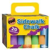 Poof #0C8907 Sidewalk Chalk 20 Pieces