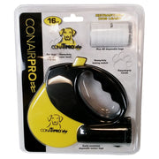 ConairPRO Dog PGRDL Retractable Leash 16 Ft with disposable waste bag holder