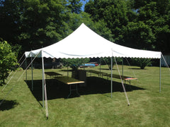 Party Rental Tent 20 x 20 Frame