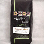 Sunrise Blend Coffee 16 oz bag available ground or whole bean
