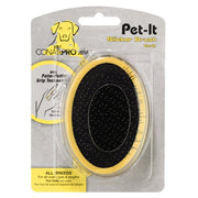 ConairPRO Dog PGRDPIS Pet-It Slicker Brush with palm petting grip