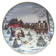 The Season's Best Budweiser Collectible Plate Front