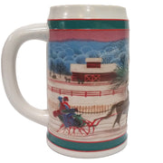 1985 Miller High Life Christmas Stein - Right Side