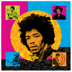 Jimi Hendrix Printed Canvas - Multi Design