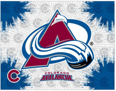 Colorado Avalanche Canvas Avalanche Logo