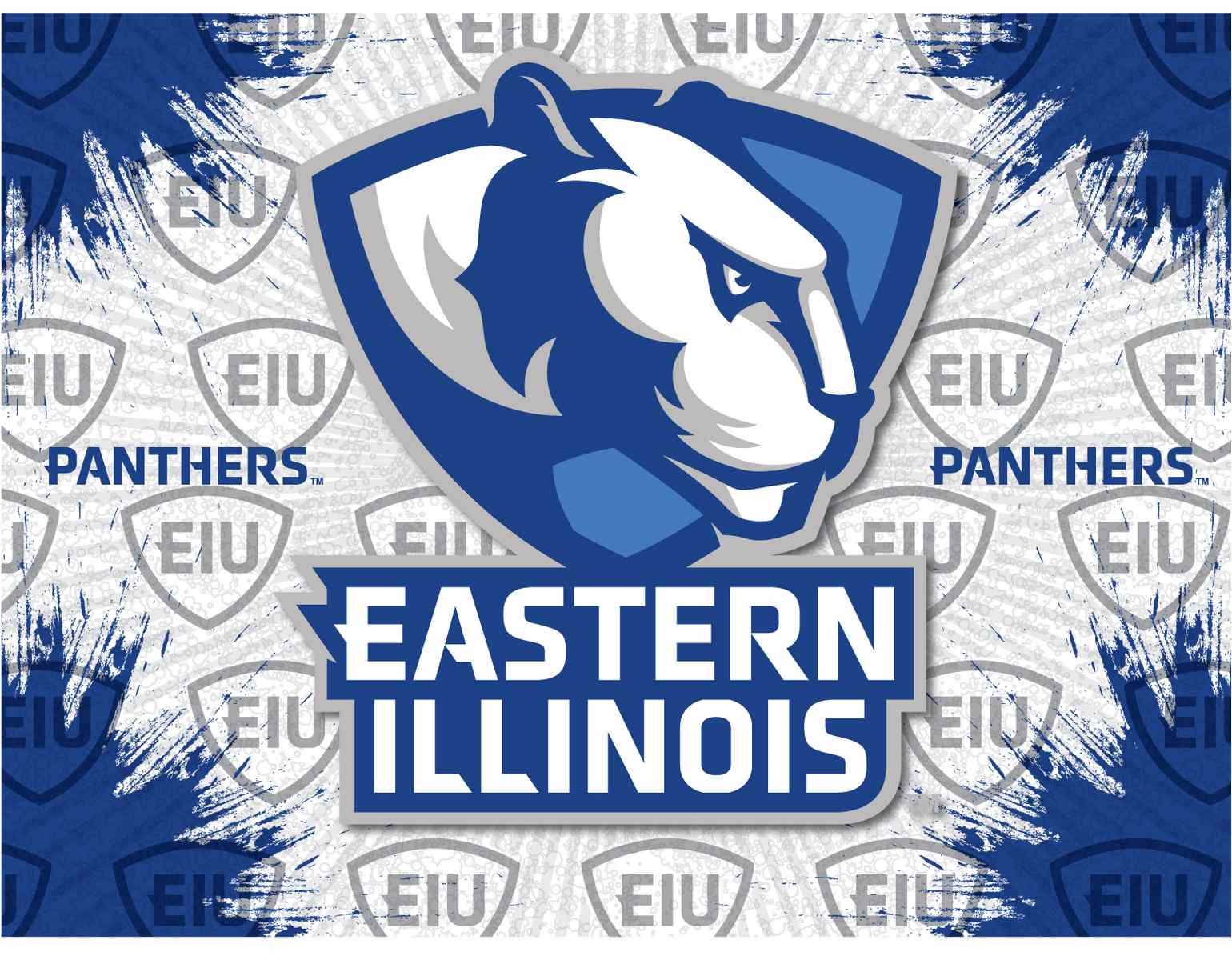 Eastern Illinois University Canvas Panthers Logo