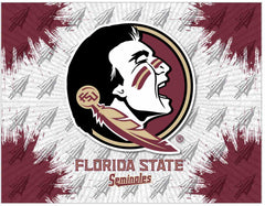 Florida State University Canvas - Seminoles Logo
