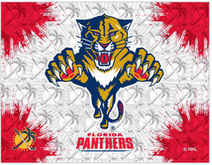 Florida Panthers Canvas - Panthers Logo