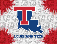 Louisiana Tech University Canvas - Bulldogs Logo