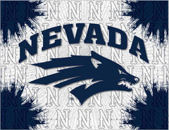 University of Nevada Canvas - Wolf Pack Logo