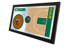 University of Alabama at Birmingham Basketball Mirror - Blazers Logo