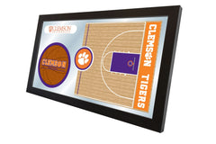 Clemson University Basketball Mirror - Tigers Logo