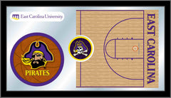 East Carolina University Basketball Mirror - Pirates Logo
