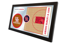 University of Houston Basketball Mirror - Cougars Logo